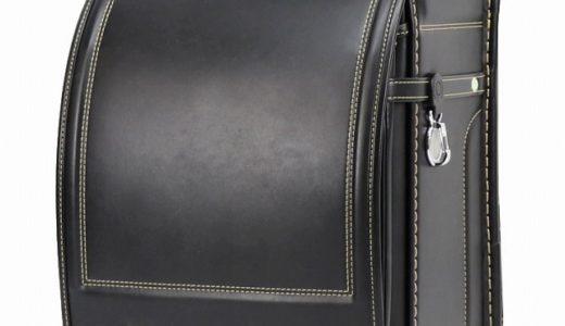 【2021年度】人工皮革ランドセル|ベーシック/黒×ゴールド