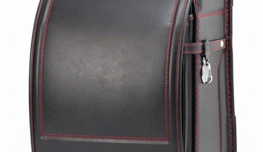 【2021年度】人工皮革ランドセル|ベーシック/黒×赤